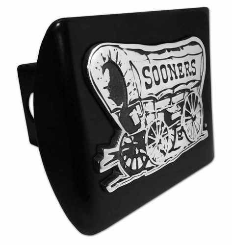 University of Oklahoma Sooner Schooner Black Hitch Cover