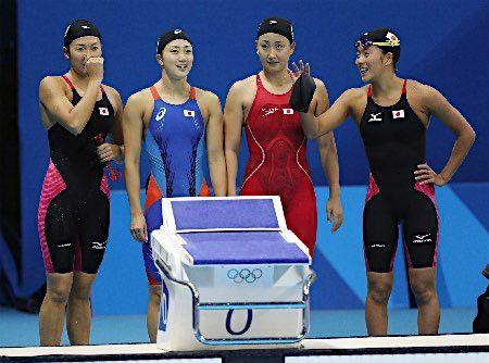 8位に終わった日本女子チーム :フォトニュース - リオ五輪・パラリンピック 2016:時事ドットコム