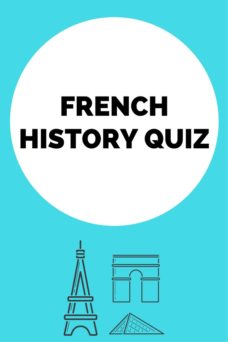 How much do you remember about French history? Put your knowledge to the test with this French history quiz :)