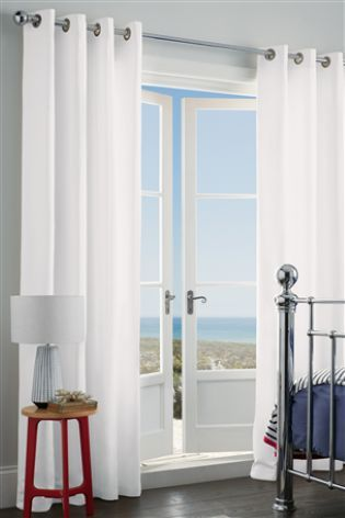 Buy Cotton Blackout Eyelet Curtains online today at Next: Australia