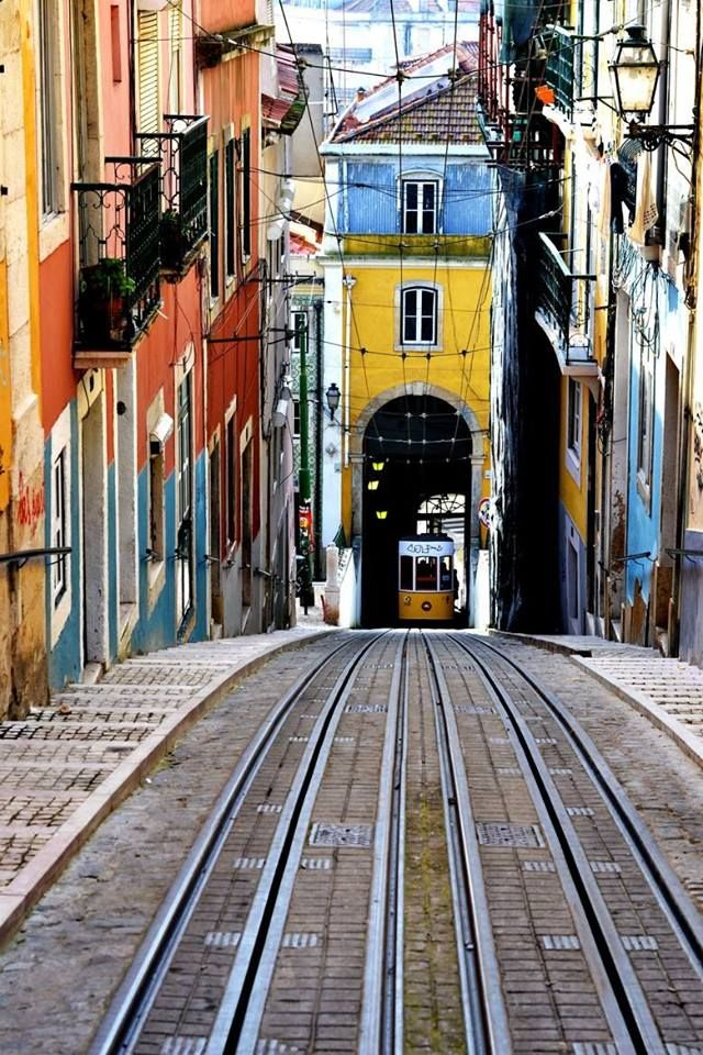 Street of Lisbon, Portugal  Photo by Fabio Eusebio