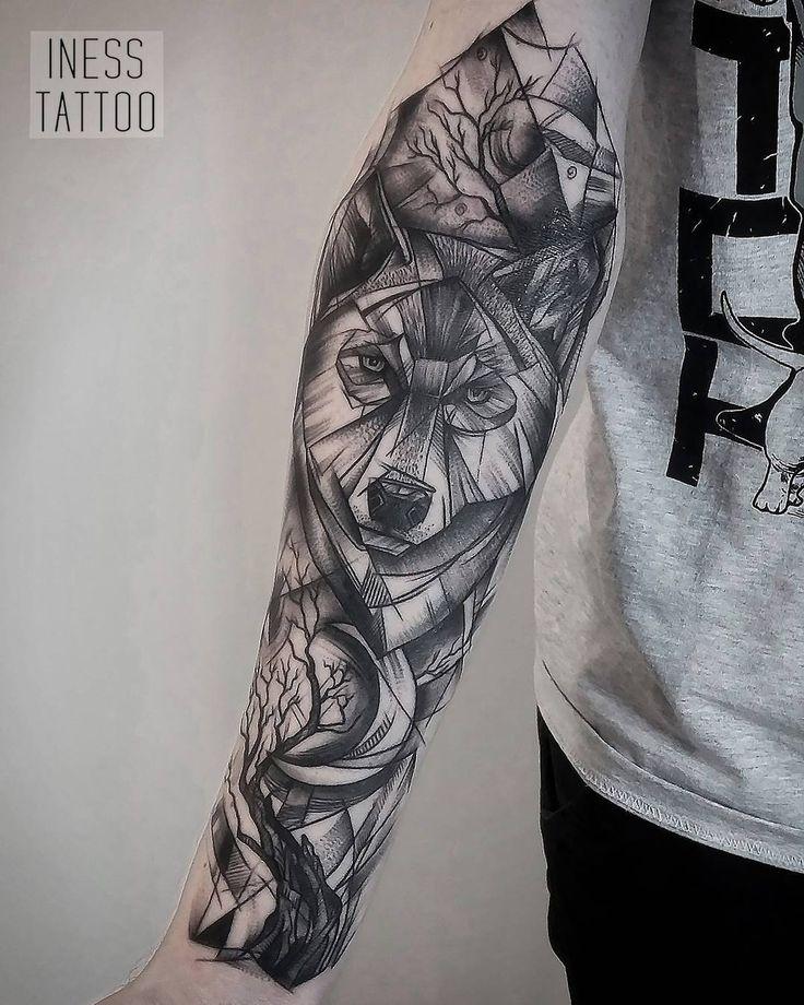 Geometric Tattoo by Iness