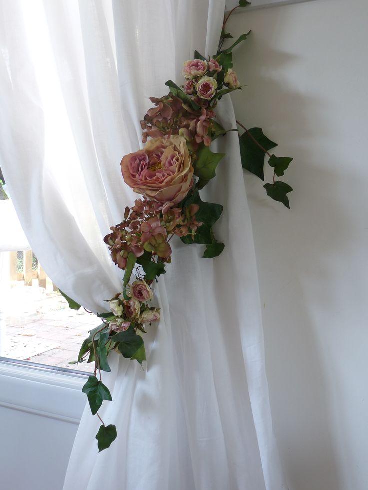 Les 25 meilleures id es de la cat gorie embrasse rideau for Decoration rideaux et voilages