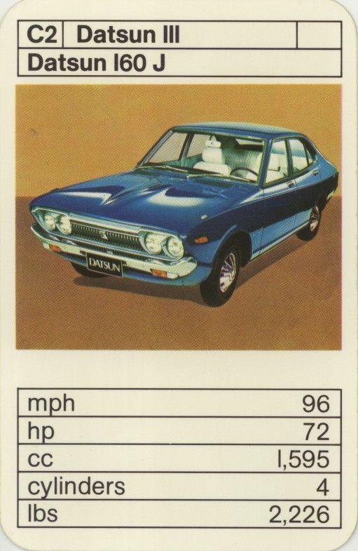 28 best Cars - Datsun 160J Violet images on Pinterest ...