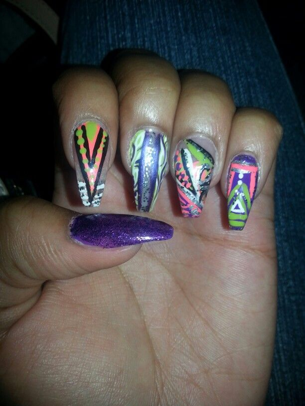 168 best my crazy nail artdesigns images on pinterest the o my crazy nail designs left hand prinsesfo Images