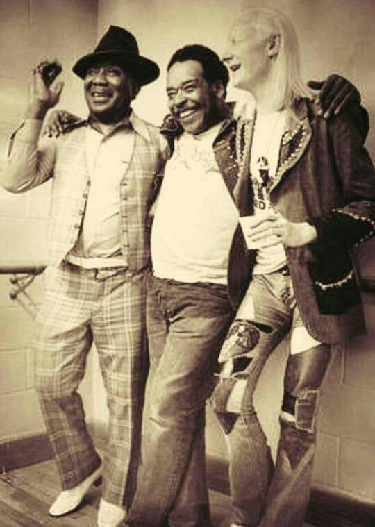 Muddy Waters, James Cotton & Johnny Winter