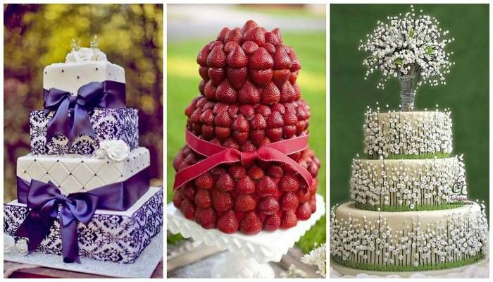Image result for unique wedding cake designs