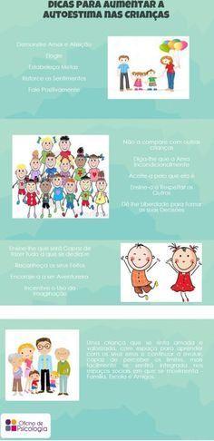 Dicas para Aumentar a Auto-estima nas Crianças: