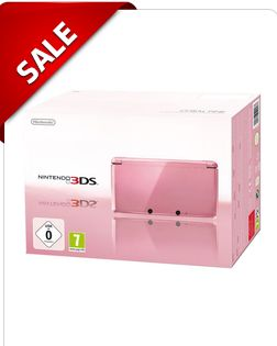 Nintendo 3DS Coral Pink Console 3DS