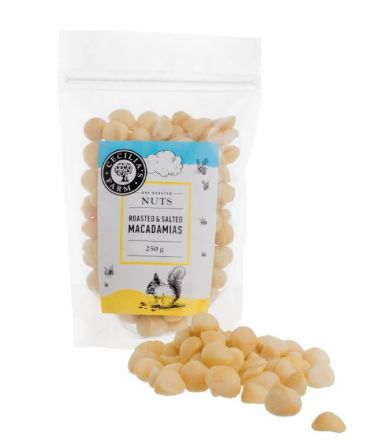 Roasted and salted Macadamia Nuts from Cecilia's Farm Shop online at www.ceciliasfarm.co.za/shop