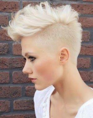 Mujer: Estilo y Belleza: Cortes y Peinados Neopunk 2014
