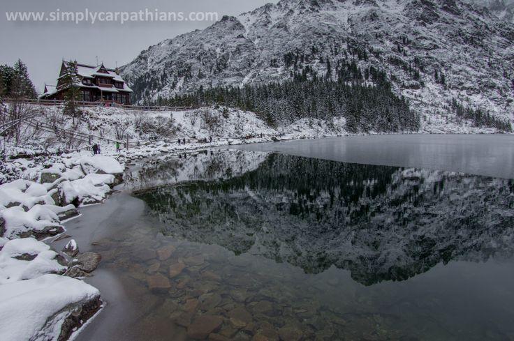 At Morskie Oko Lake, Tatra Mountains, Poland.
