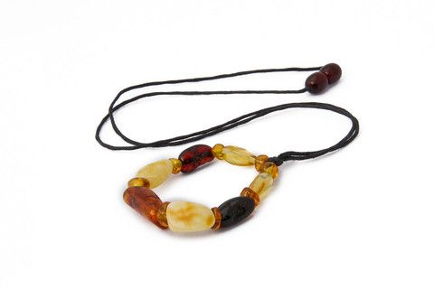 Adult Amber Necklace - Nursing Necklace – by Amberocks. Baltic amber breastfeeding necklace. These amber breastfeeding or nursing necklaces are a great additions to any mother's wardrobe. It can hold a distracted baby's attention, be safe enough not to break when tugged and look fabulous too! They measure approx. 56cm long. Wearing this necklace can help your baby focus on feeding while encouraging him or her to explore the necklace beads that are appropriate and safe for little hands.