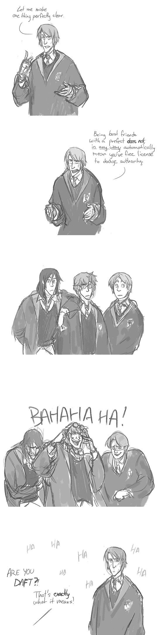 Lupin's logic was Dumbledore's logic...which didn't work out quite the way he planned...