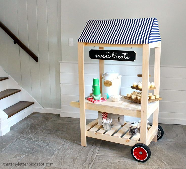 Ana White   Vendor Cart Pretend Play Toy - DIY Projects