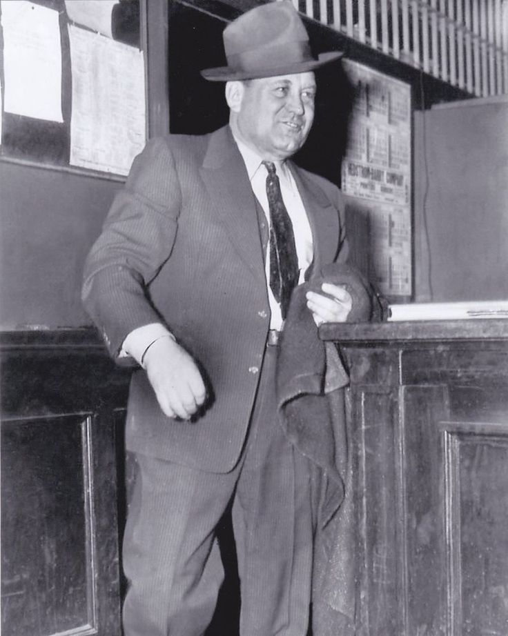 "Chicago Gangster, Mob Boss George ""Bugs"" Moran-- 8X10 photo reprint"