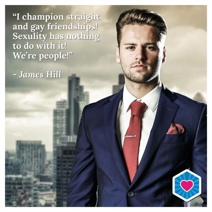 As James Hill says it...We're all just people! #LoveIsLove