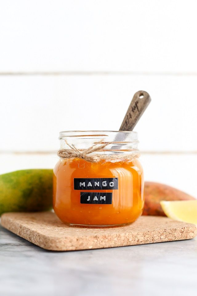 This sweet, simple homemade mango jam is like a dose of sunshine! Pair it with a sprinkle of dried coconut or a dollop of coconut cream to add tropical flavor to smoothies, parfaits, and porridges.