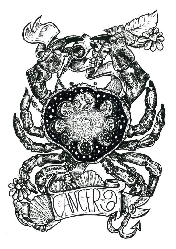 cosmic Cancer Crab