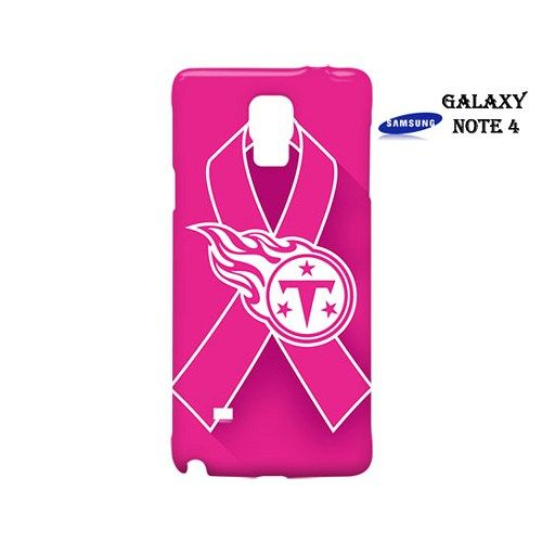 Tennessee Titans Pink Ribbon Case for Samsung Galaxy Note 4
