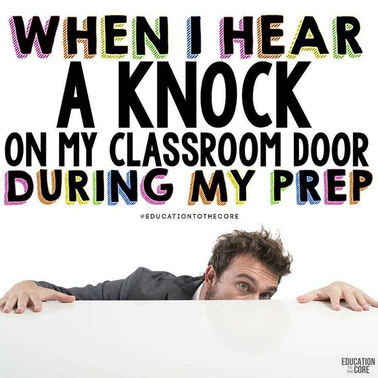 A trainer's face when… he hears a knock on his classroom door throughout his p…