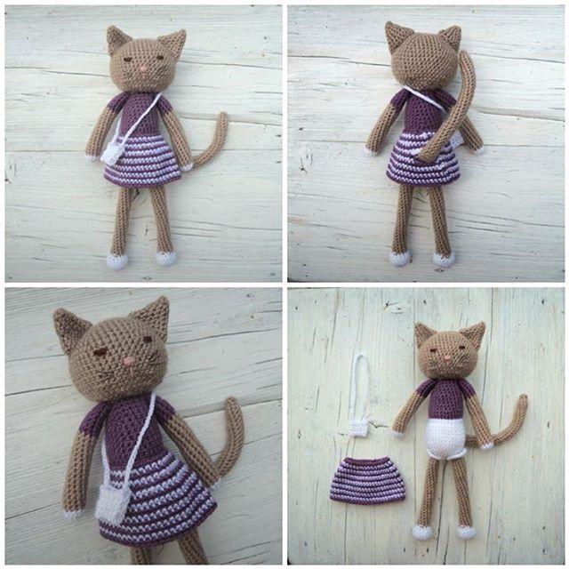 Crochet cat. Kitty