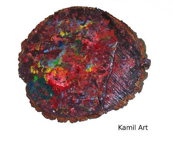 Abstract Art Original KamilArt  COLORFUL CIRCLE