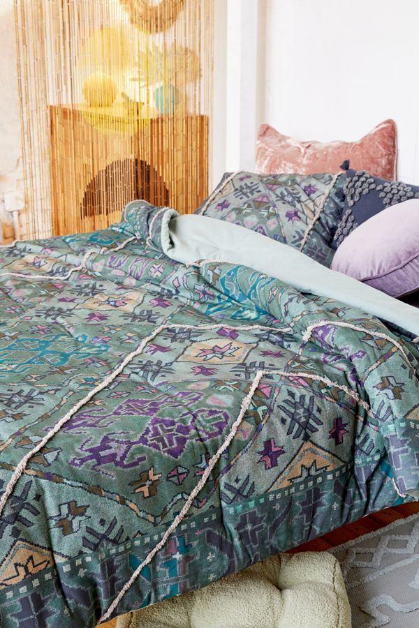 Ayat Tufted Comforter Comforters, Floral comforter, Cat