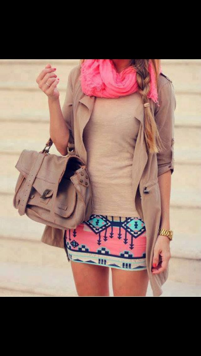 Cute spring outfit! #spring