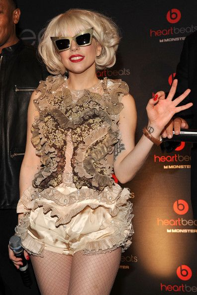 Lady Gaga Photos Photos - Singer Lady Gaga attends the Heartbeats by Lady Gaga headphones unveiling at GILT at The New York Palace Hotel on September 30, 2009 in New York City. - Heartbeats By Lady Gaga Headphones Unveiling
