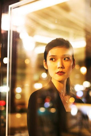 Tao Okamoto, at the Made dinner in Paris.