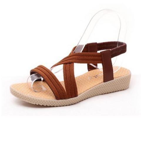 Women Flats Sandals Fashion Casual Beach Sandals Bohemian Fashion Summer Shoes womens fashion for summer 2017