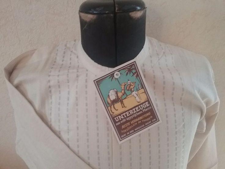 Unterhemd Herren Unterzeuge echt ägyptischem Macco, Wäsche Kleidung ca. 1./ 2.WK