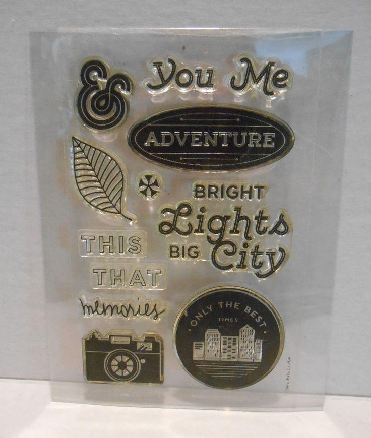 Hero Arts Basic Grey Second City Photopolymer Stamps BRIGHT LIGHTS CL794 #HeroArts