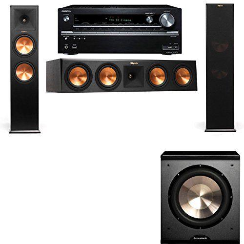 Klipsch RP-280F Tower Speakers-PL-200-3.1-Onkyo TX-NR838