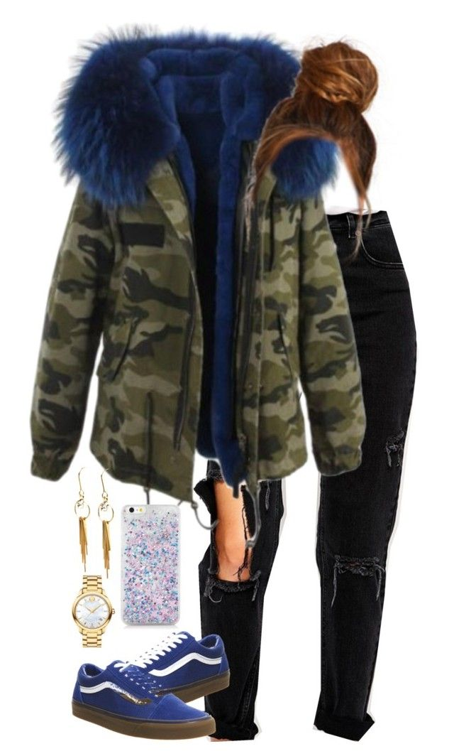 """""""10.11.16"""" by mcmlxxi ❤ liked on Polyvore featuring ASOS, Vans and Movado"""