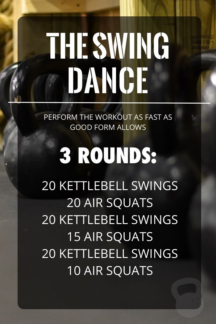 If you've got a kettlebell, this interval workout is fast, fun, and effective, and will leave you feeling the burn in your lower body.