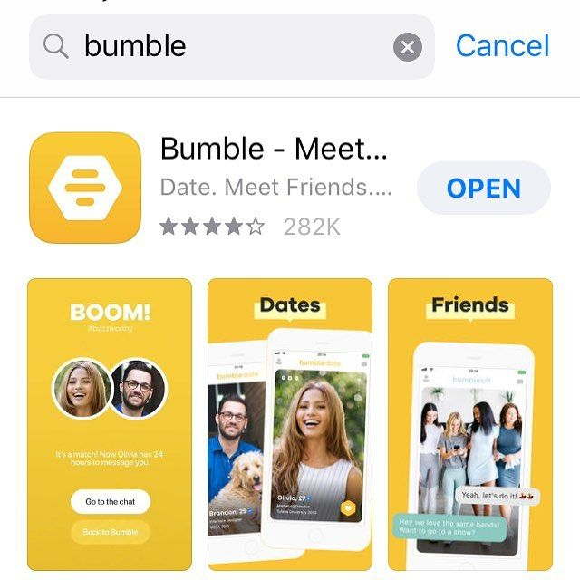 If your looking for a good safe dating app use bumble the
