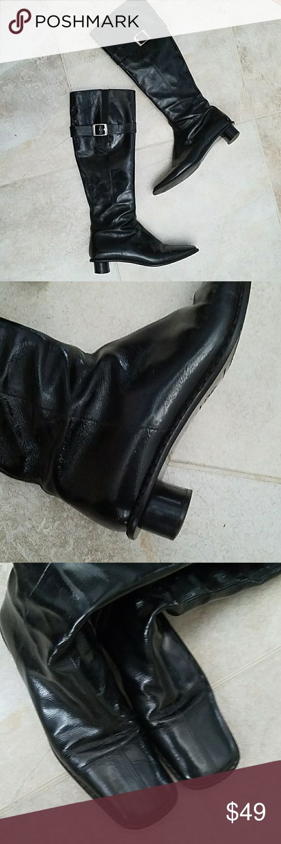 Selling this Sigerson Morrison Patent Leather Boots on Poshmark! My username is: bobbiaughtry. #shopmycloset #poshmark #fashion #shopping #style #forsale #Sigerson Morrison #Shoes