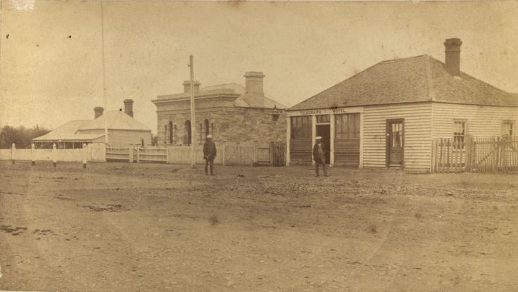 Colac Post Office: early [Source: SLV]