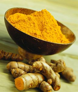 Turmeric is anti inflammatory and brightening. Mix with equal part chickpea flour and cream to create a skin brightening scrub!