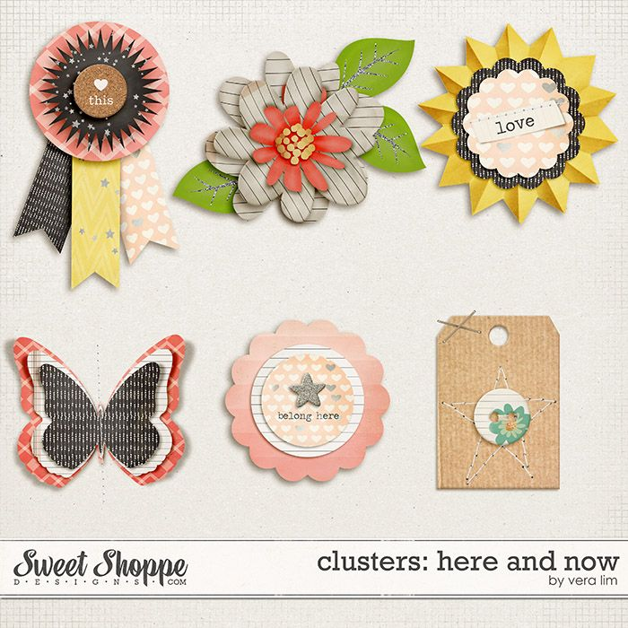 Here and Now :: Clusters by Vera Lim