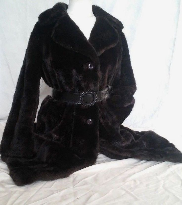 #tumbrl#instagram#avito#ebay#yandex#facebook #whatsapp#google#fashion#icq#skype#dailymail#avito.ru#nytimes #i_love_ny     Womens MICHEL ALEXIS PARIS FAUX DARK BROWN MINK FUR LONG COAT SIZE XL #MichelAlexis #BasicCoat