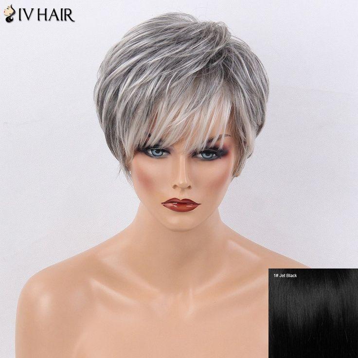 Straight Bangs Natural Hair