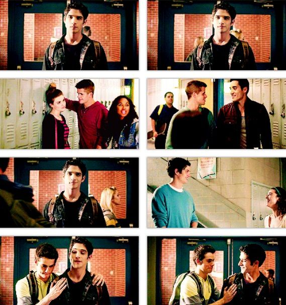 This was by far the cutest scene from the entire series so far! ❤ Except that Allison and Scott aren't together and they should be!!