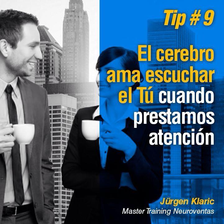 13 tips de #Neuroventas de Jürgen Klaric.