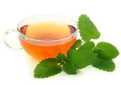 Lemon Balm Tea... herbal treatment for cold sores. Brew tea, cool, put on cotton ball and dab on cold sore 3 times a day