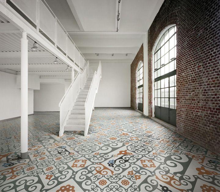 Frame collection ceramic floor by Refin Ceramiche materials