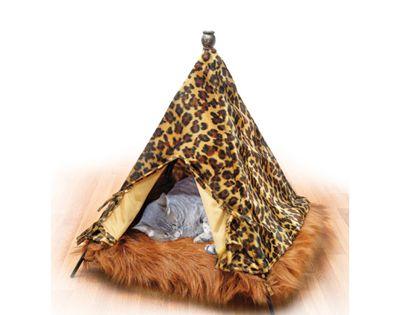 tenda leopardata per gatto