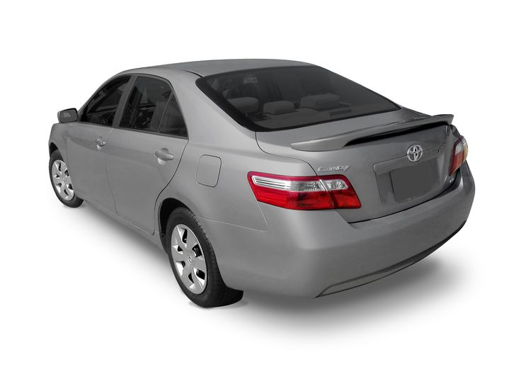 2007 - 2011 Toyota Camry Custom Style Pedestal Rear Deck Spoiler http://www.sportwing.com/cus-cam-toyota-camry-custom-style-pedestal-spoiler